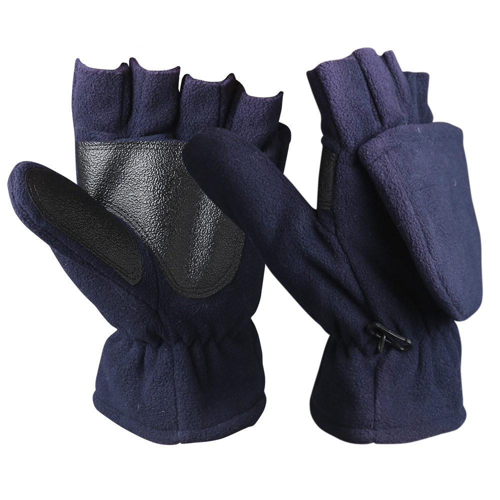 Fingerless Micro Fleece Gloves/WKR-004-N