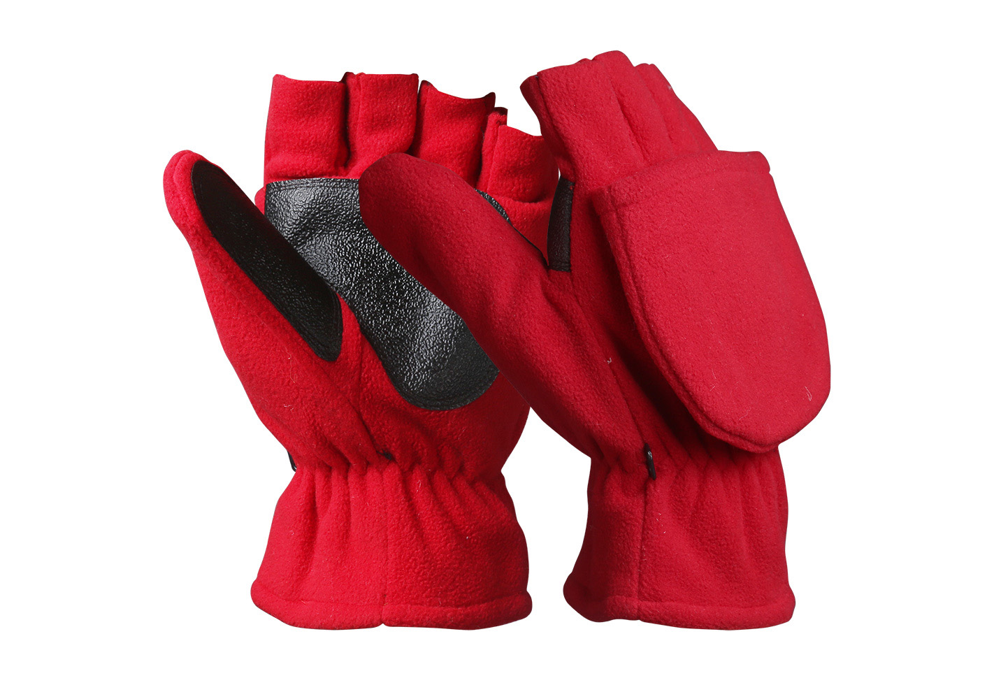 Fingerless Micro Fleece Gloves/WKR-004-R