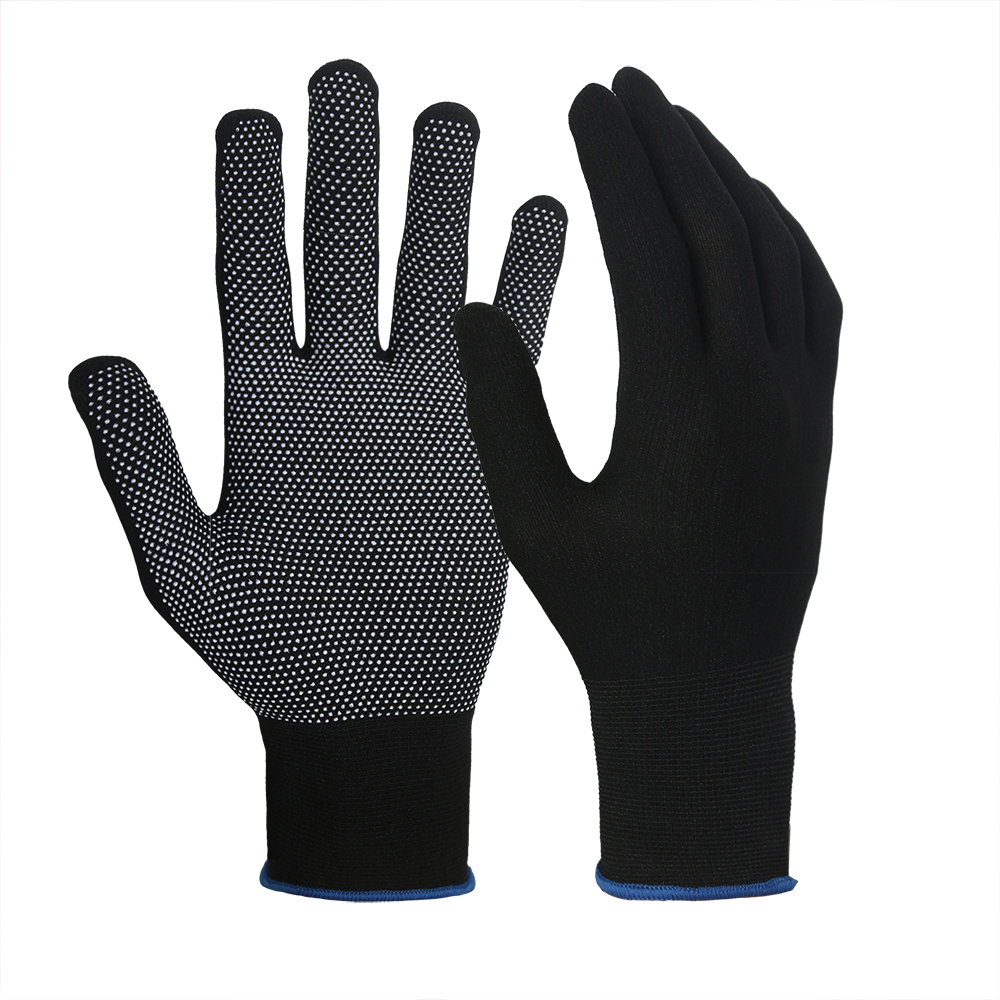 Nylon Gloves with PVC Doted/MWG-006