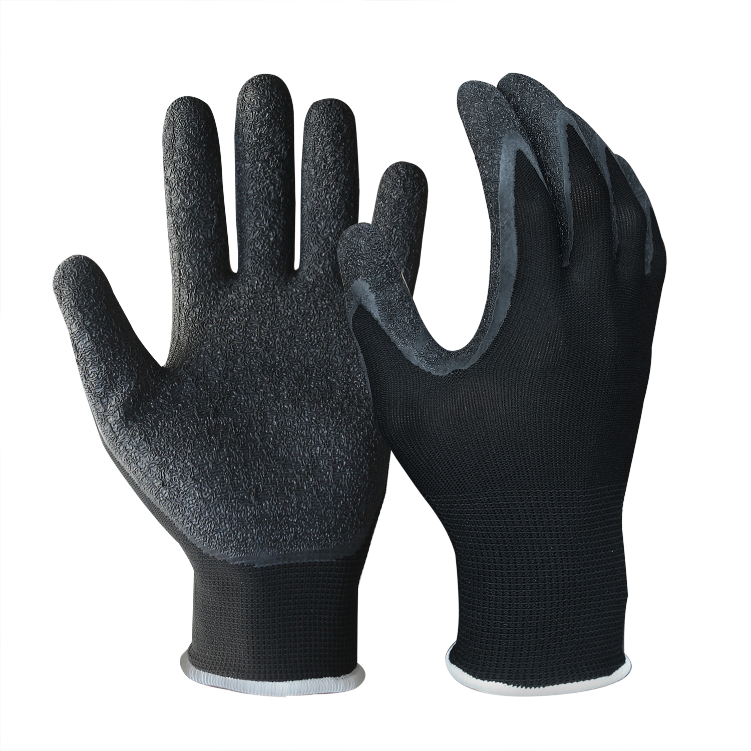 Latex Coated String Knit Safety Work Gloves/LCG-015