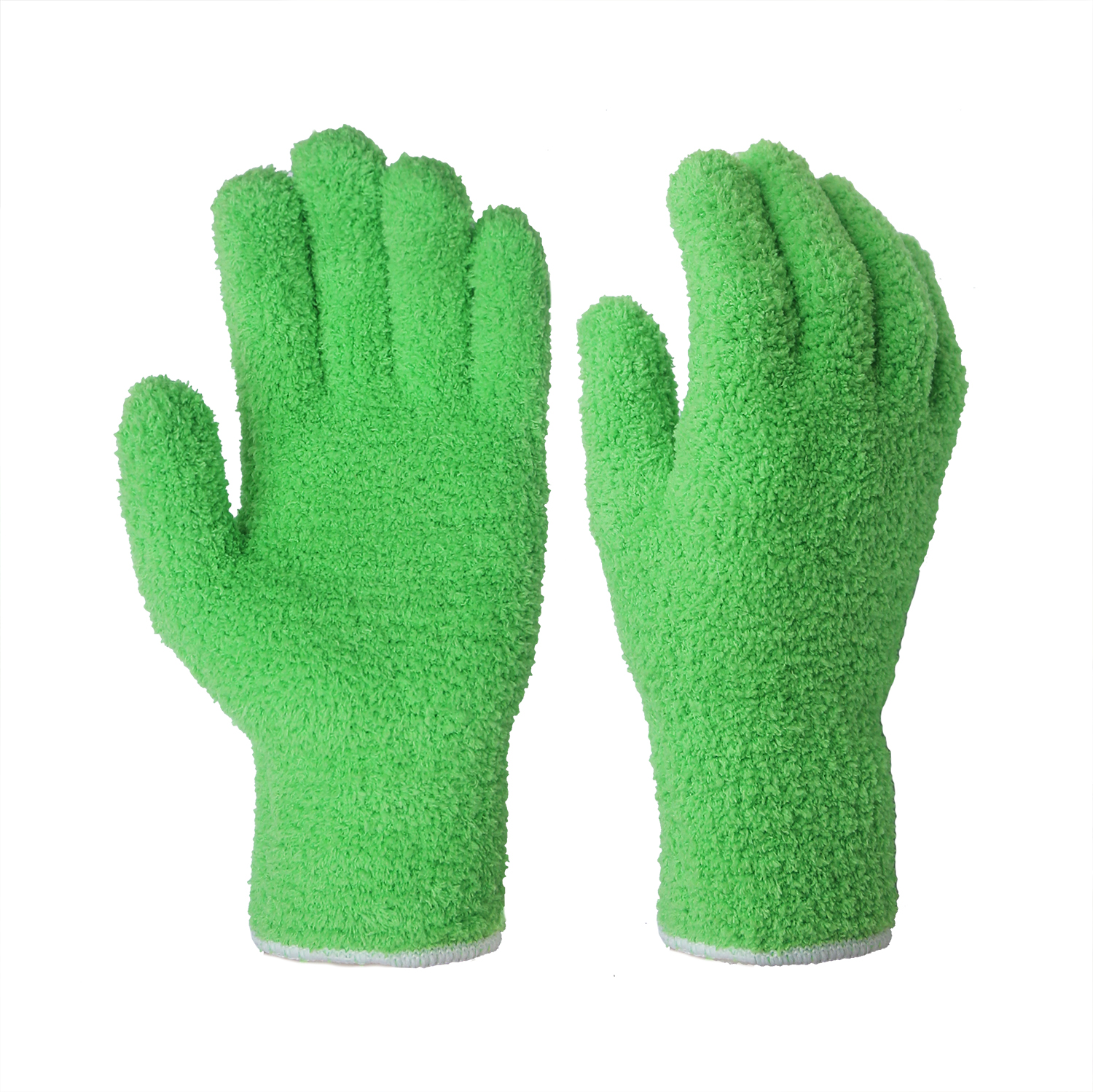 Microfiber Auto Dusting Cleaning Gloves/MDC-003-G