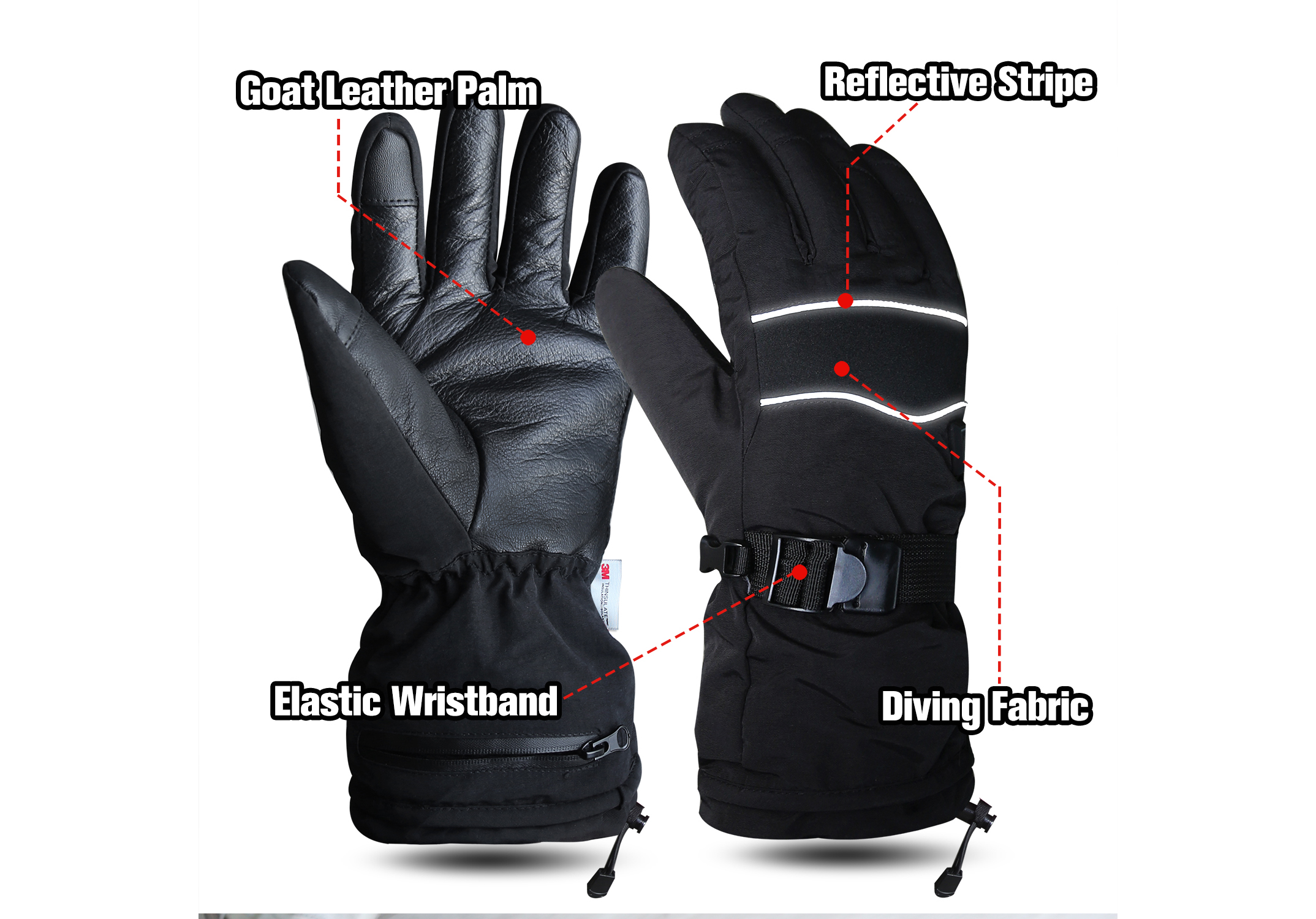 Electric Heated Gloves Winter/EHG-003