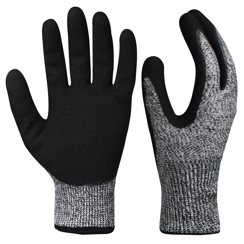Double Layer and Double Nitrile Coated Gloves/NCG-044