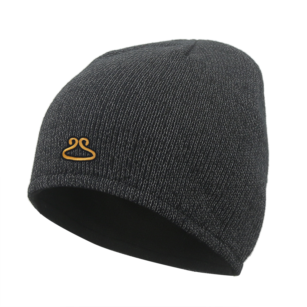 Custom Logo Reflective Beanie with Micro Fleece Liner/RTB-005