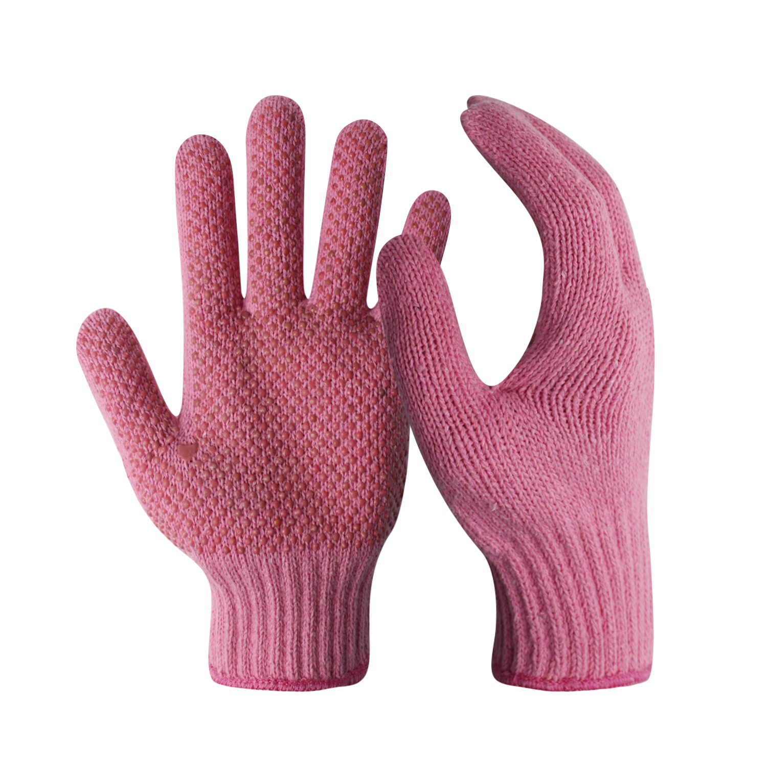 Pink Poly/Cotton Hand Gloves Liner/CKG-007