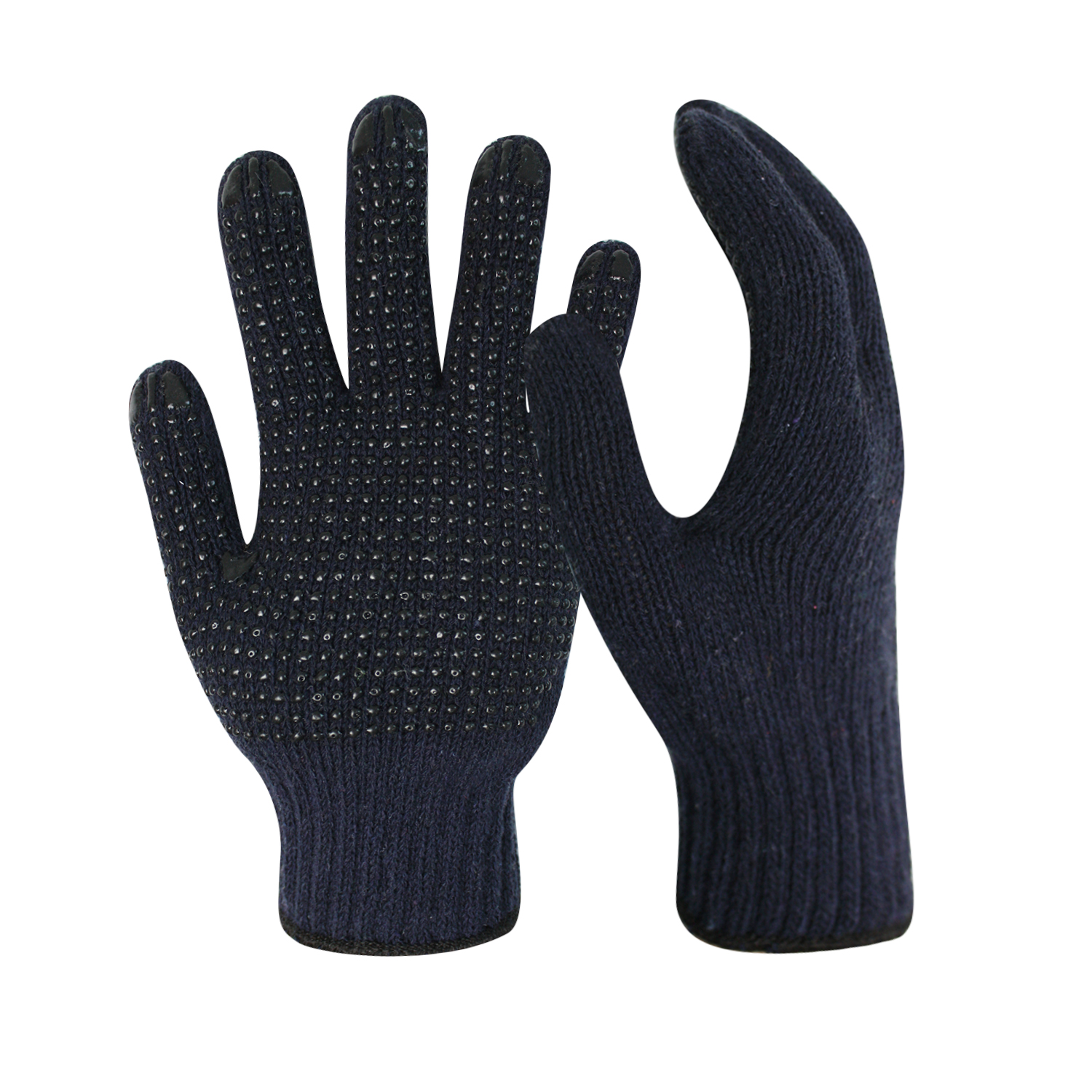 7G Navy Cotton Work Gloves Liner/CKG-010