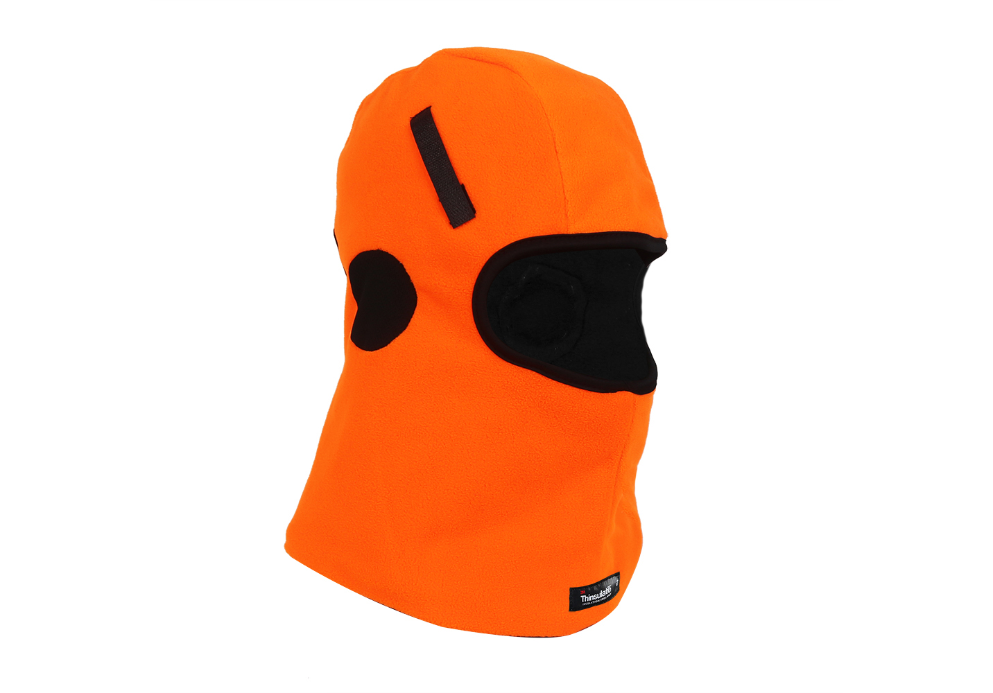 Hi-Vis Orange Micro fleece Balaclava for Helmet Liner/HHL-006