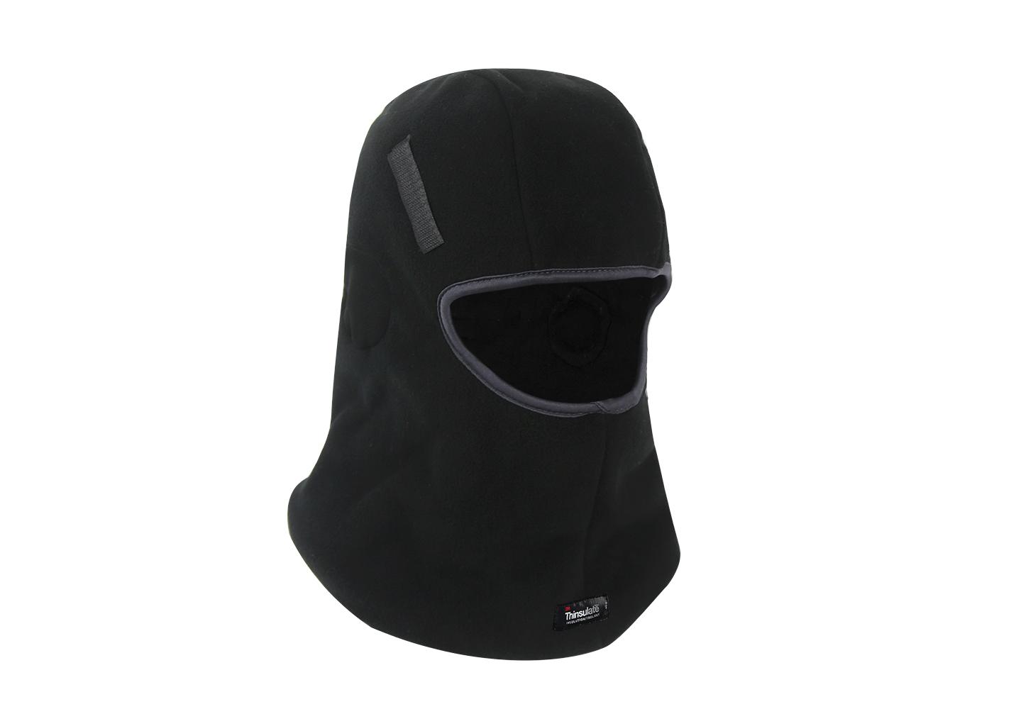 Black Micro fleece Balaclava for Hard Head Liner/HHL-007