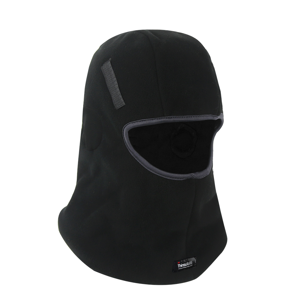 Black Micro fleece Balaclava for Hard Head Liner/HHL-007