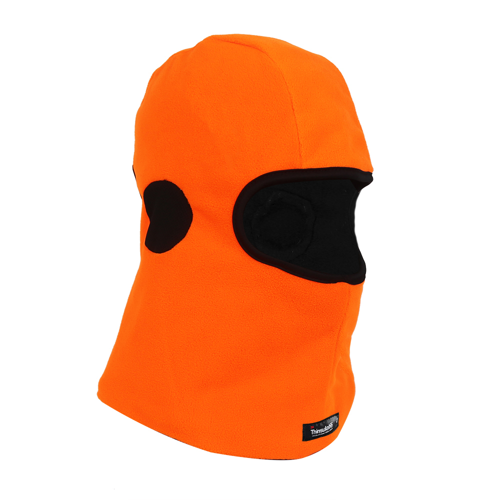 Hi-Vis Orange Micro fleece Balaclava with 3M Thinsulate/HHL-008