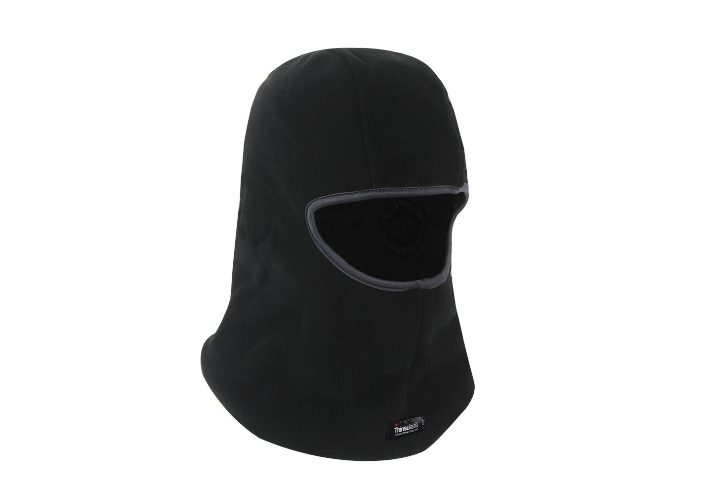 Winter Warmth Black Micro fleece Balaclava/HHL-009