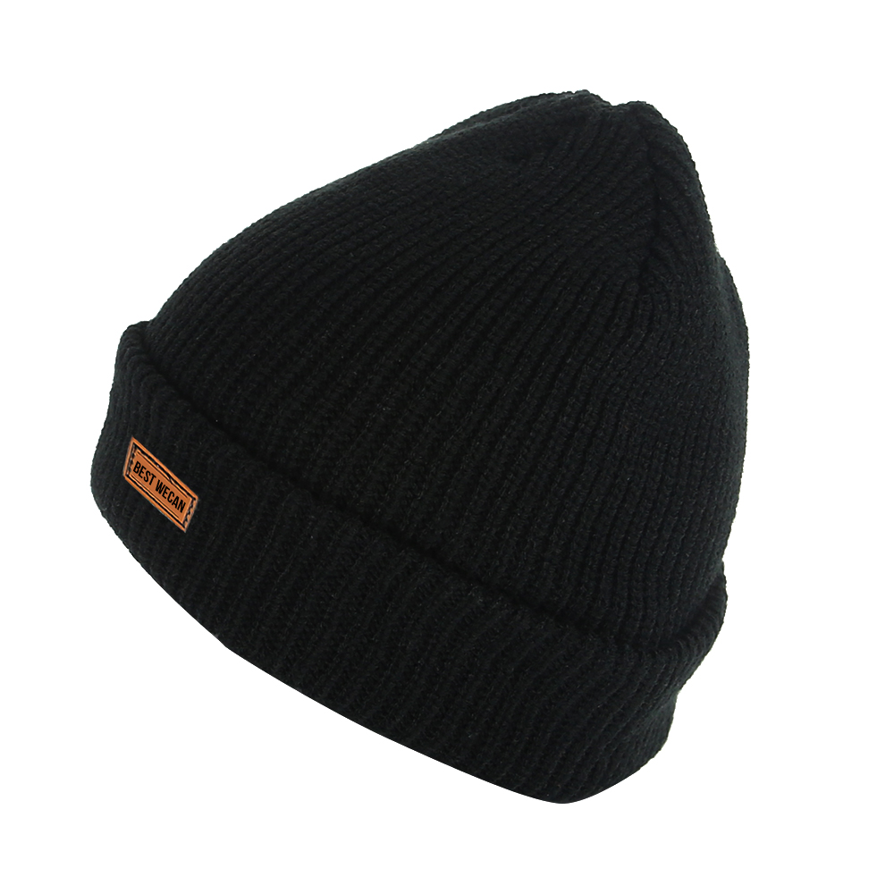 Double Layer Winter Acrylic Knit Hat/WKH-018
