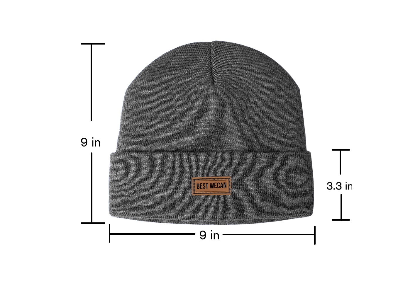 Tight Knit Acrylic Beanie with 3M Thinsulate Lined/WKH-021