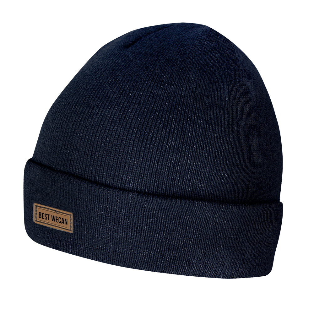 Double Layer Tight Knit Acrylic Beanie/WKH-022