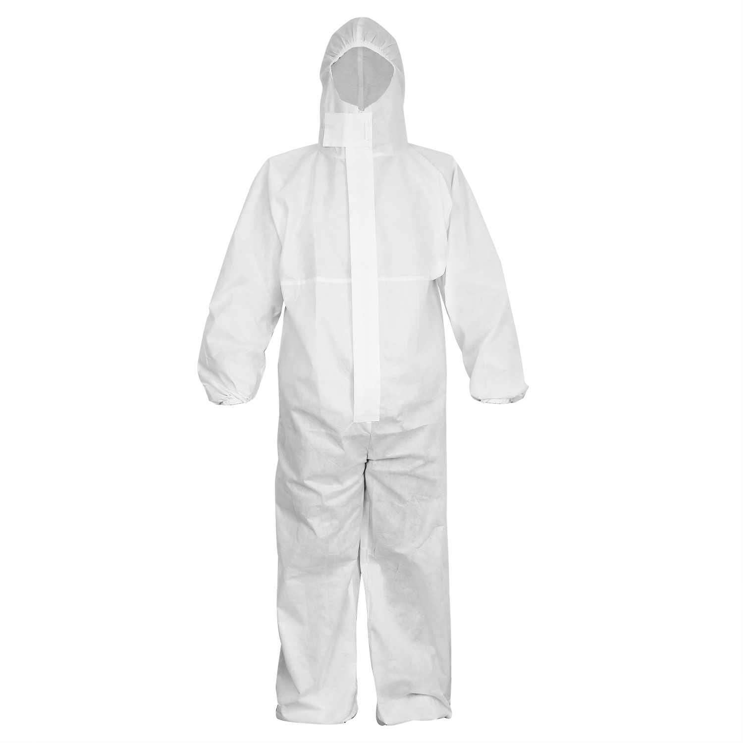 White 40g Latex Free Protective Coveralls/PCS-002