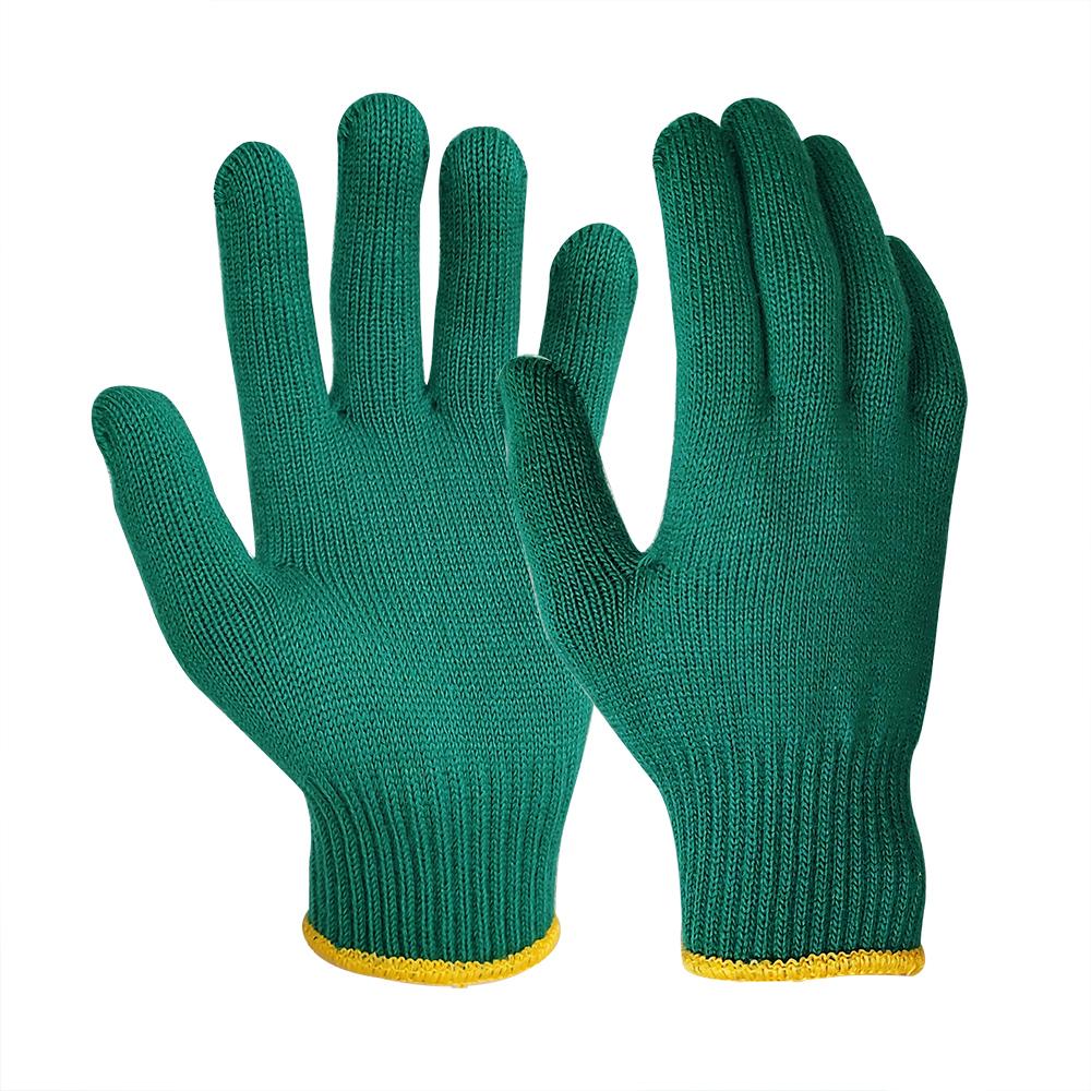10G Green Acrylic Glove Liner/SKG-030