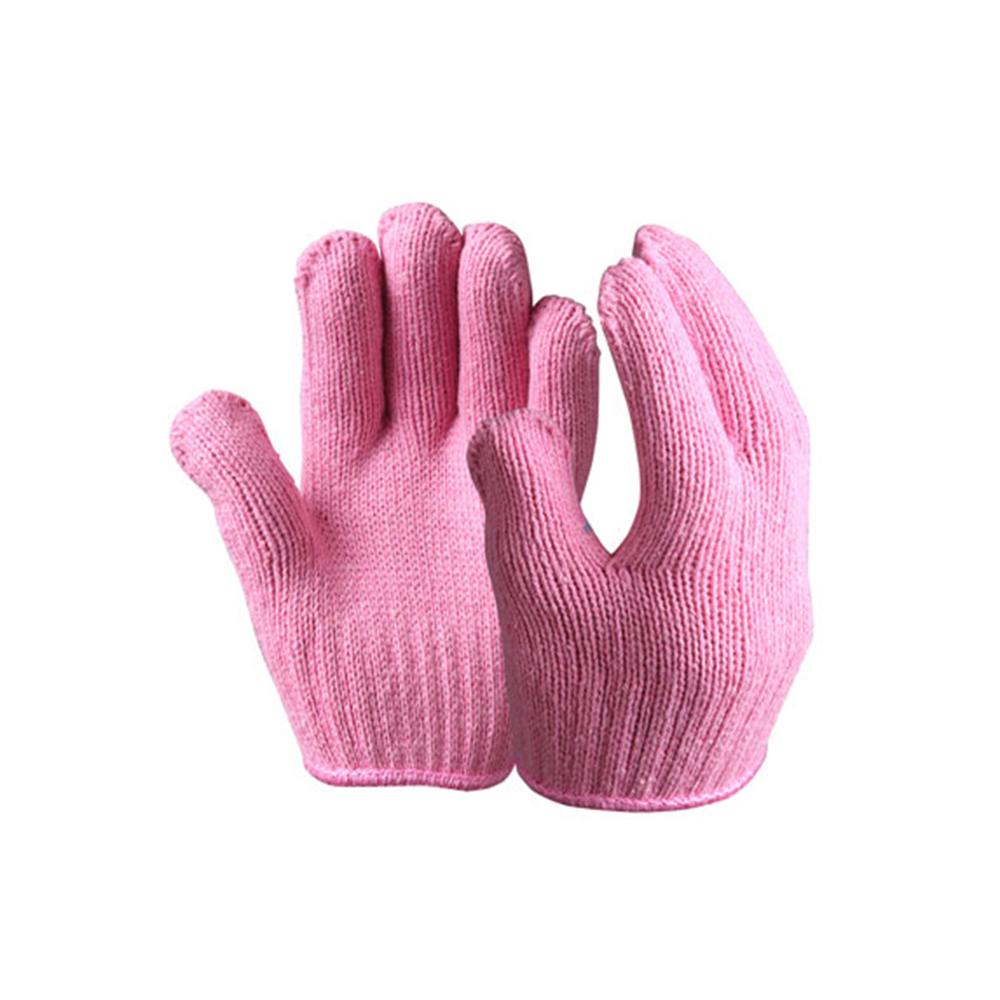 Multi-color Children& Ladies Safety Gloves/String Knit Gloves