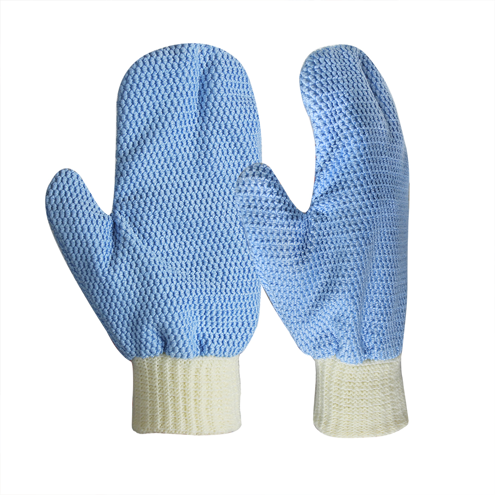 100% Microfiber Polyester Cleaning Mitts for Cars and Trucks