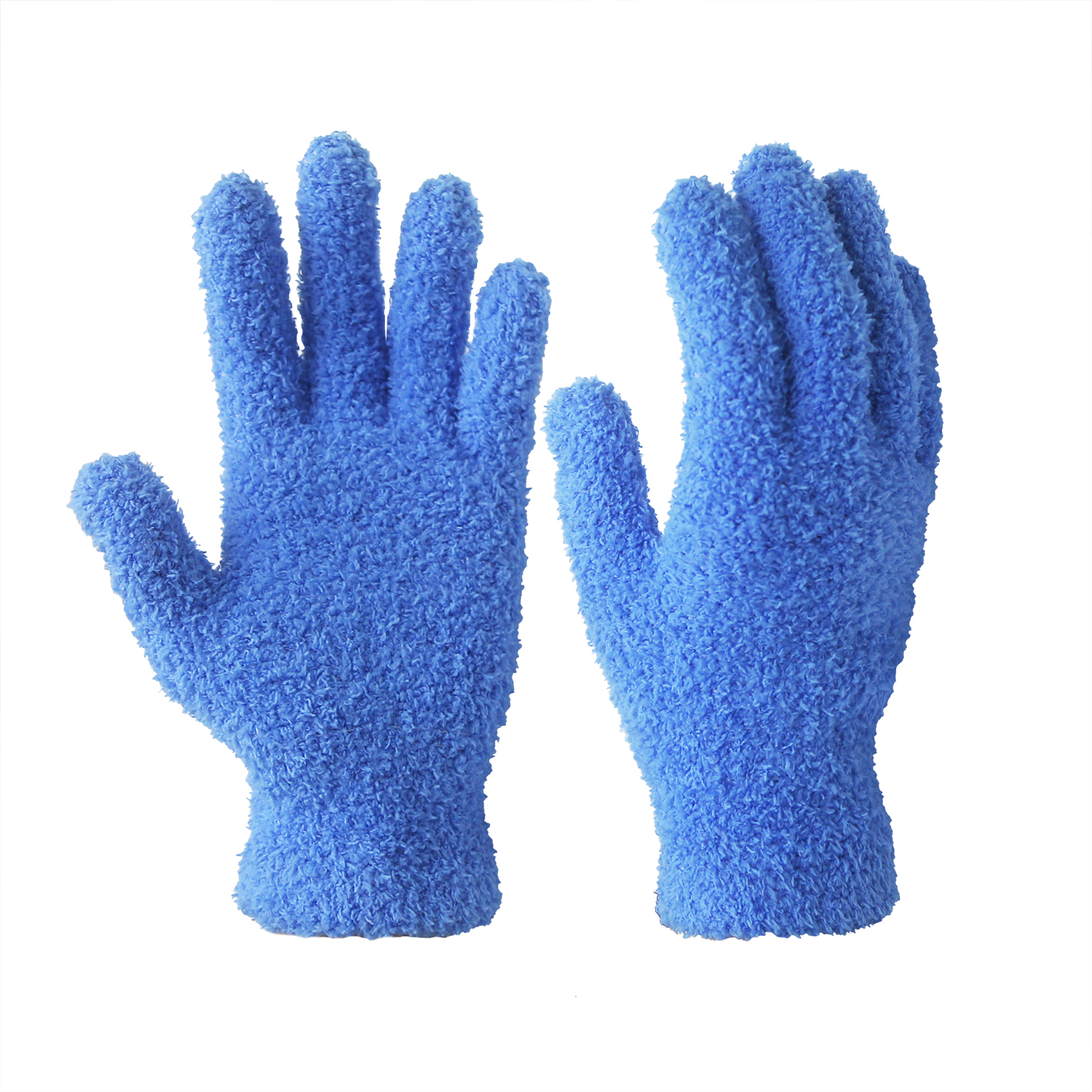 100% Microfiber Polyester Dust Cleaning Clean Room Gloves