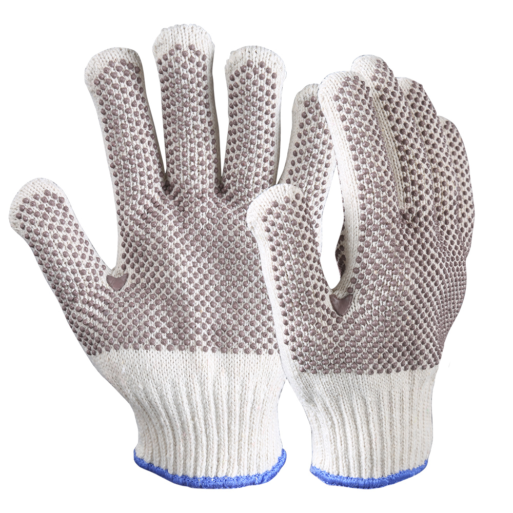 Double Layer Heavyweight Dots Grip Heat Resistant Glove/HRG-025
