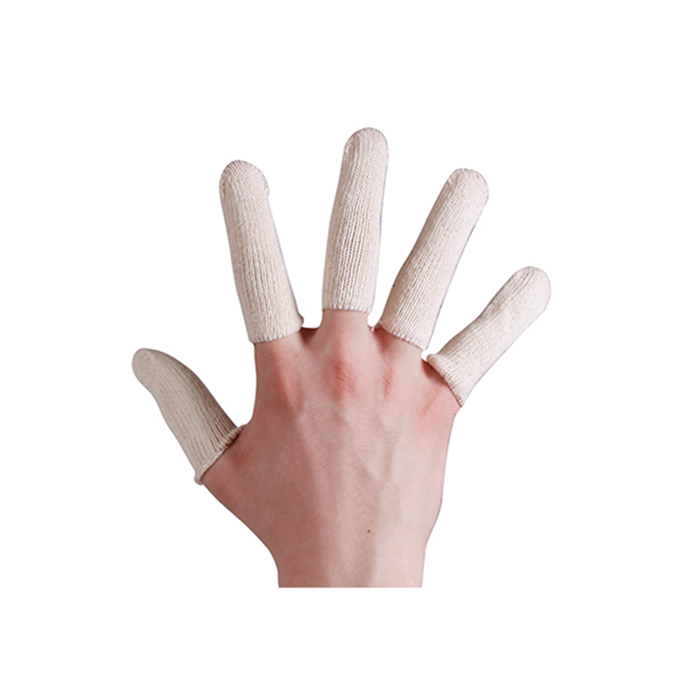 Cotton Finger Protection Safety Cots