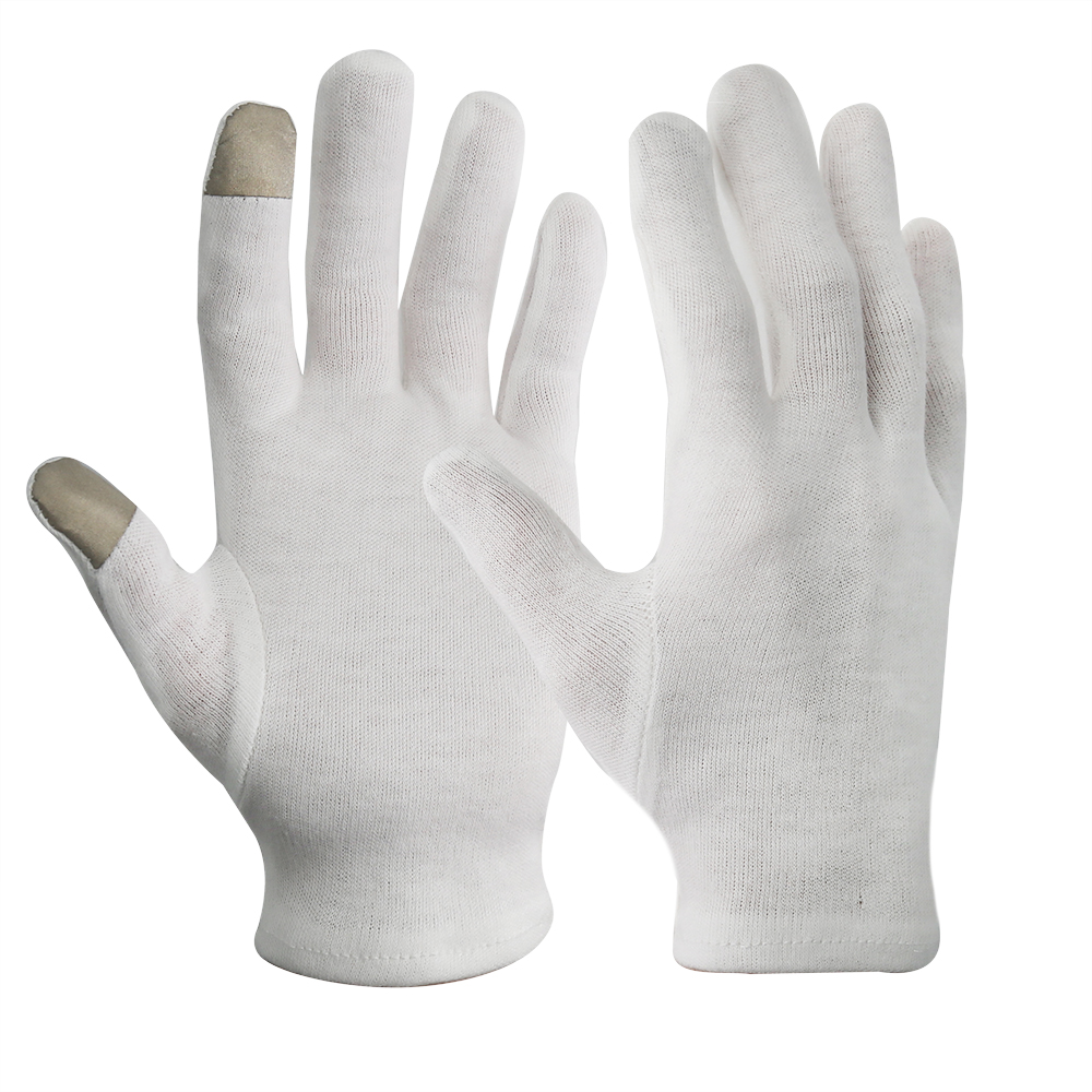 Touch Screen Light Weight 100% Cotton Knitted Gloves/GCG-006