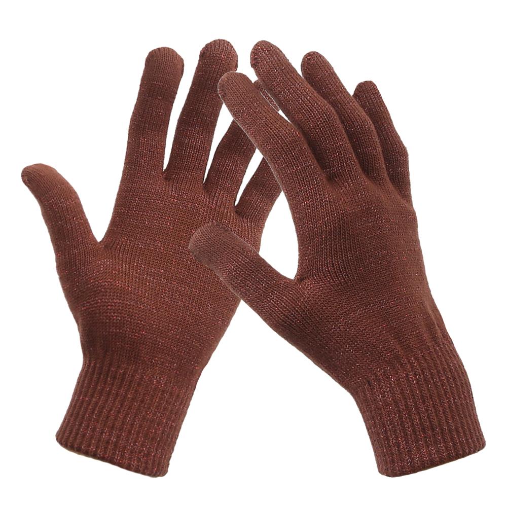 抗菌防臭手袋 コロナ対策 10Gスマホ対応手袋 のびのびマジック手袋 防寒 メッキ糸編み込み