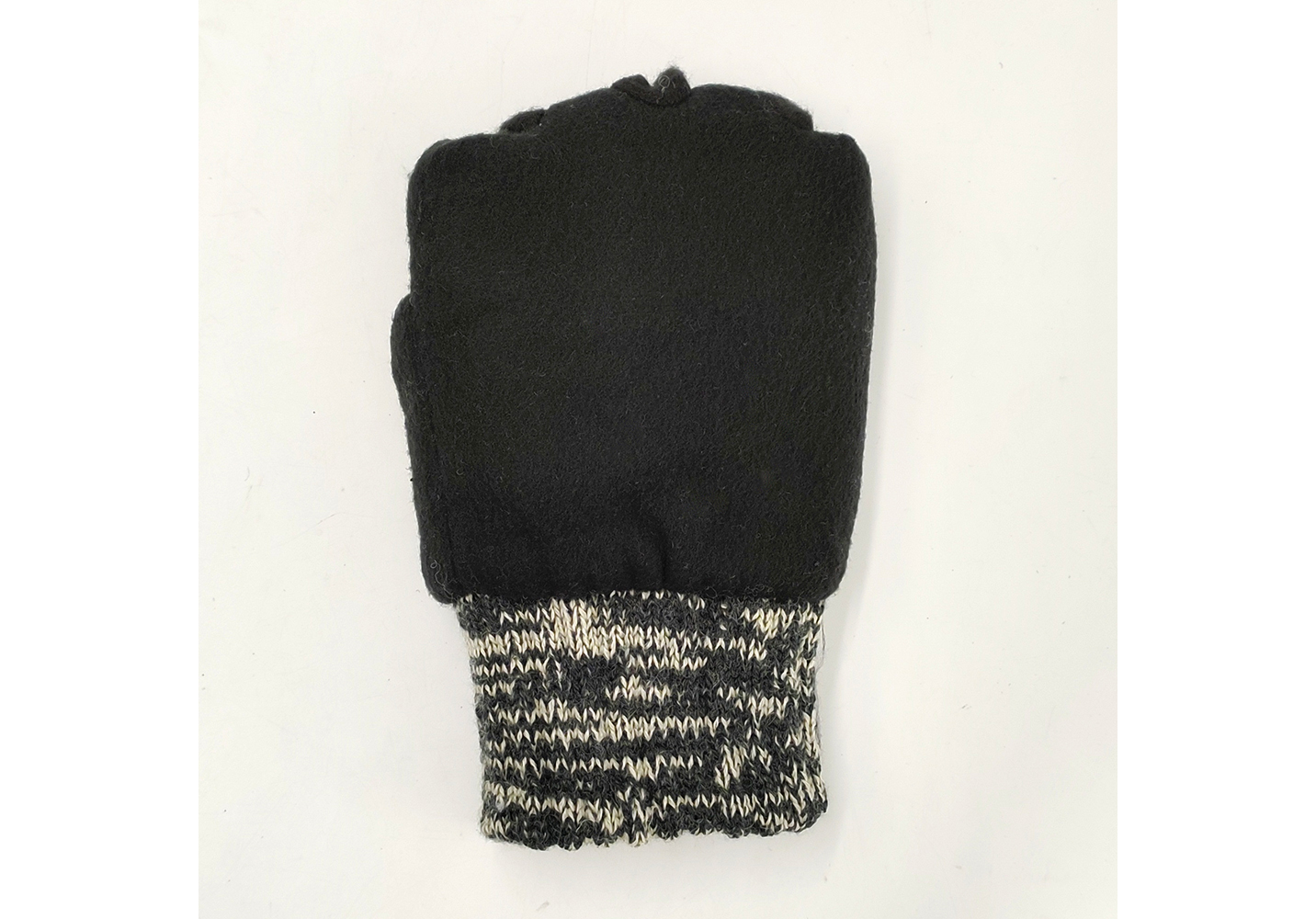 3M Thinsulate Lining Wool/Acrylic Double Knit Gloves with Leather on Plam/IWG-030