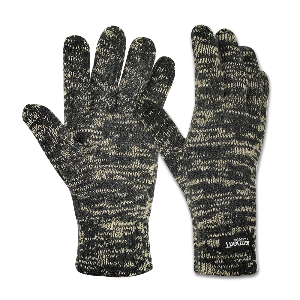 Winter Work Wool/Acrylic Knit Gloves with 3M Thinsulate Lining/IWG-033