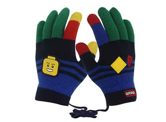 High quality Creative custom cute touch screen winter warm kids gloves