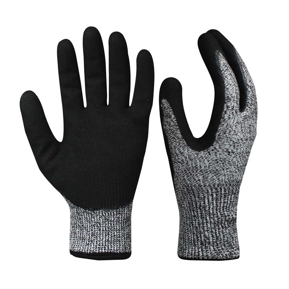 NCG-044 13G Double Layer and Double Nitrile Coated Gloves