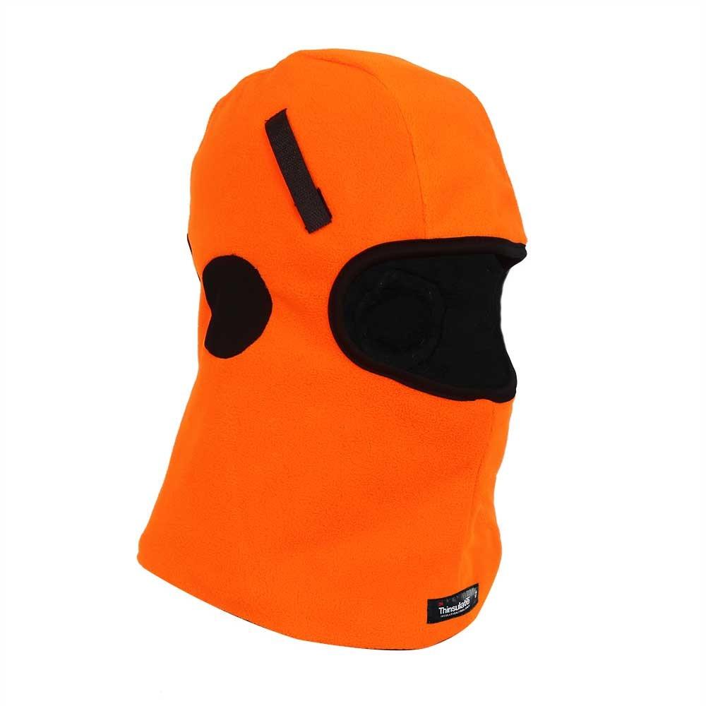 Hi-Vis Orange Micro fleece Balaclava for Helmet Liner/HHL-006