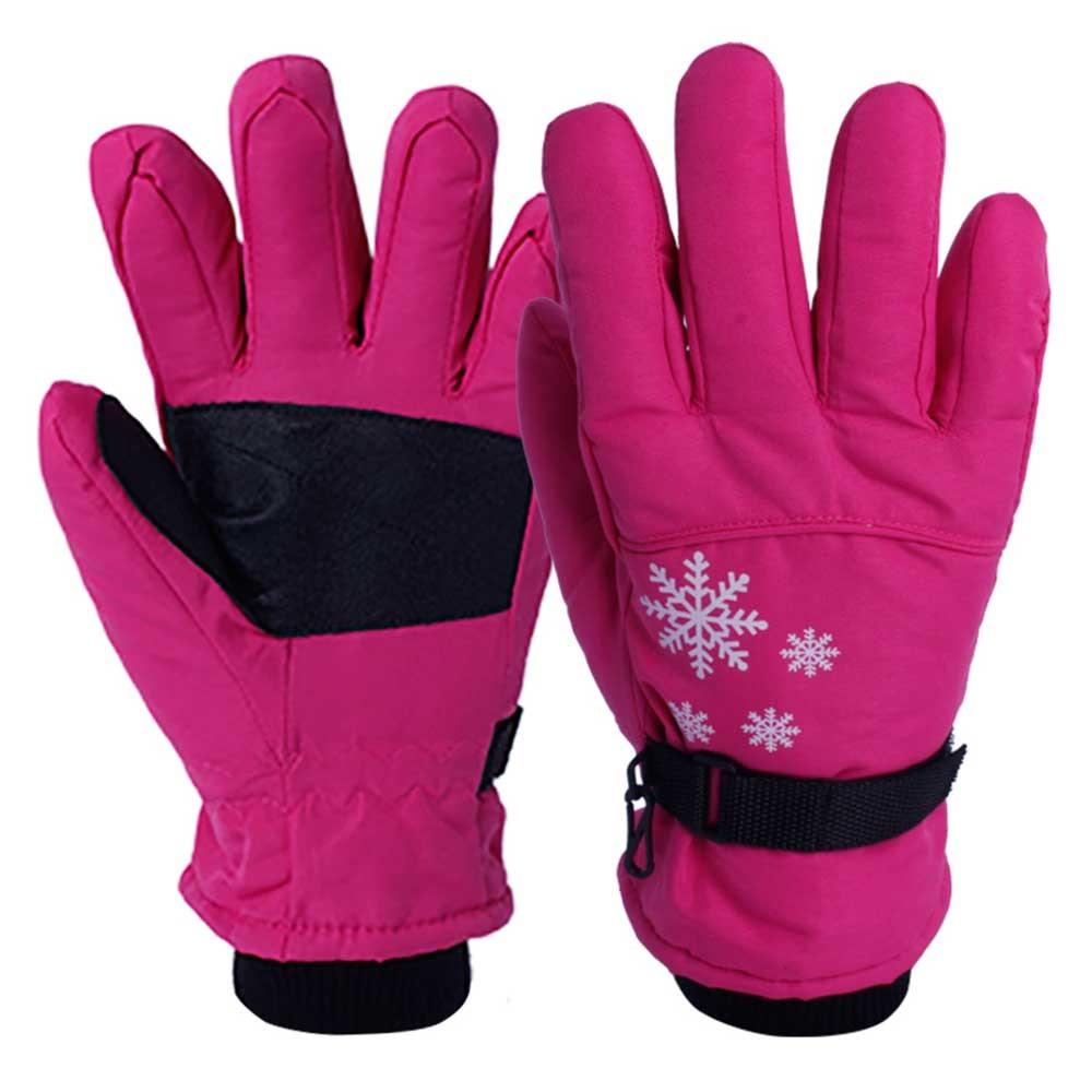 IWG-015-C Nylon Insulated Ski Thermal Gloves