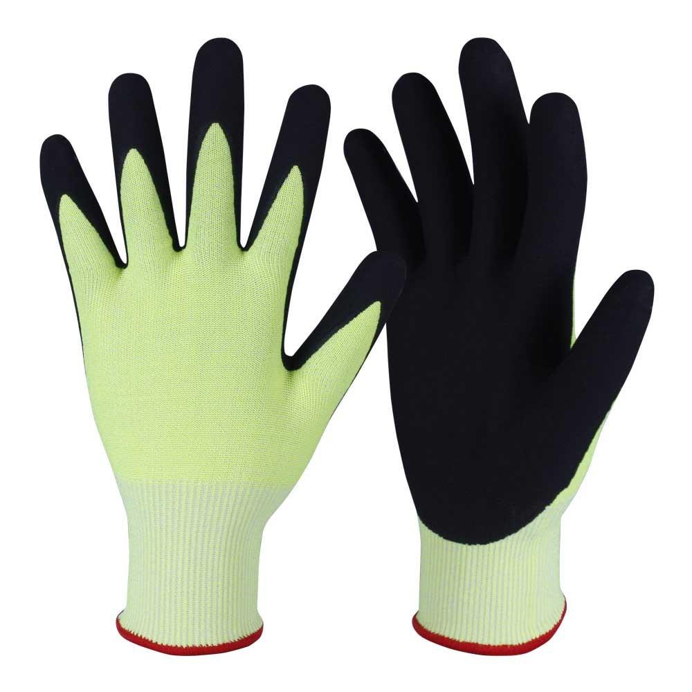 Nitrile Coated Safety Work Gloves/NCG-029
