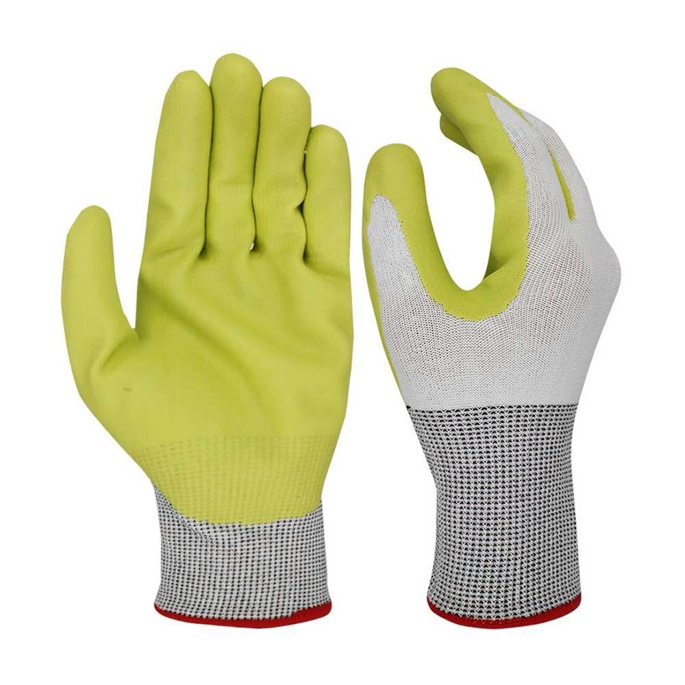 NCG-028 Nitrile Coated Safety Work Gloves