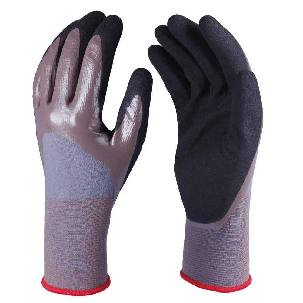 NCG-027 Nitrile Coated Safety Work Gloves
