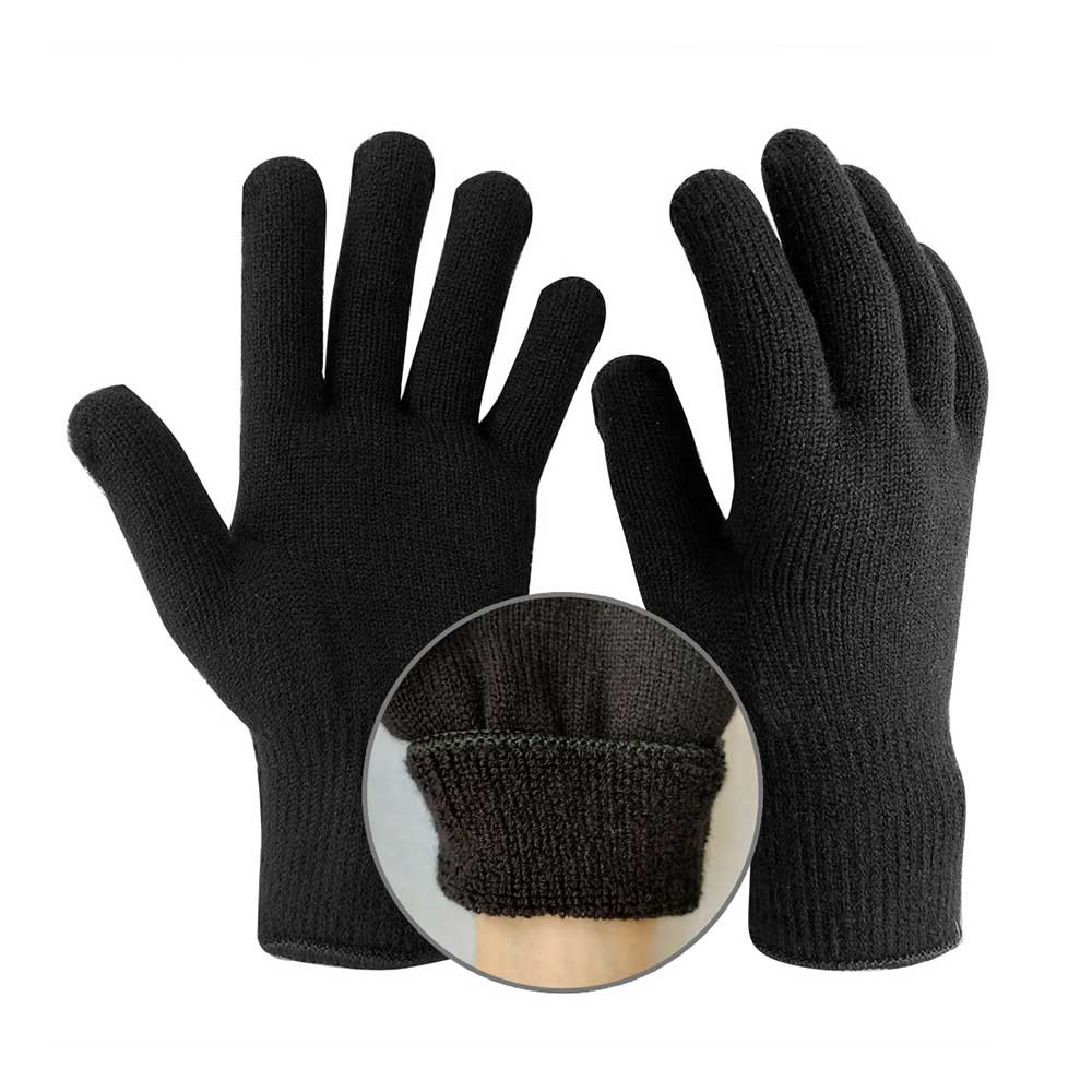 SKG-029 Double Knit Acrylic Gloves with Terry Loop Liner