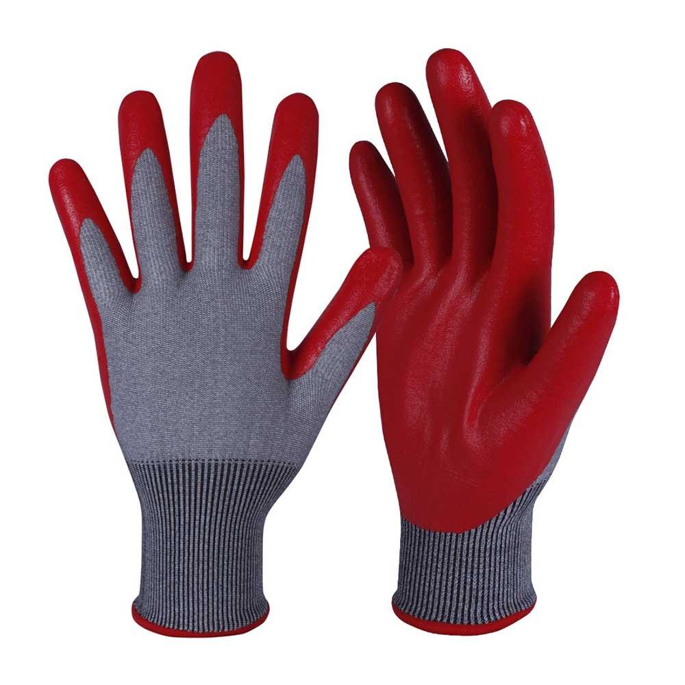 NCG-025 Nitrile Coated Safety Work Gloves