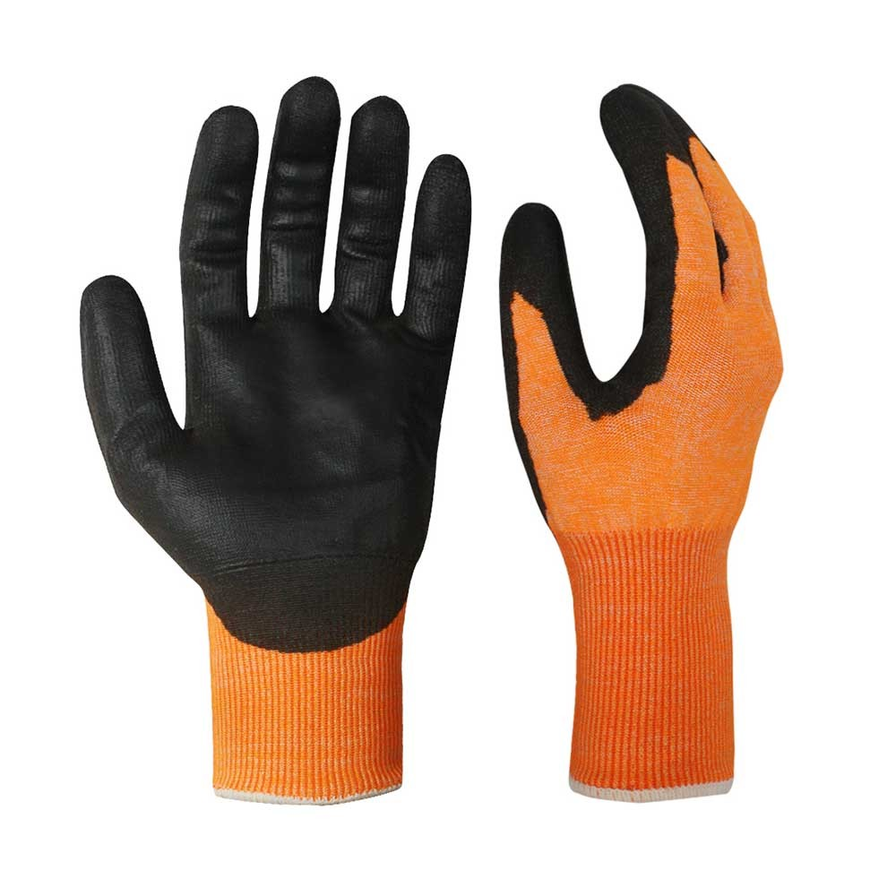 Nitrile Coated Safety Work Gloves/NCG-022