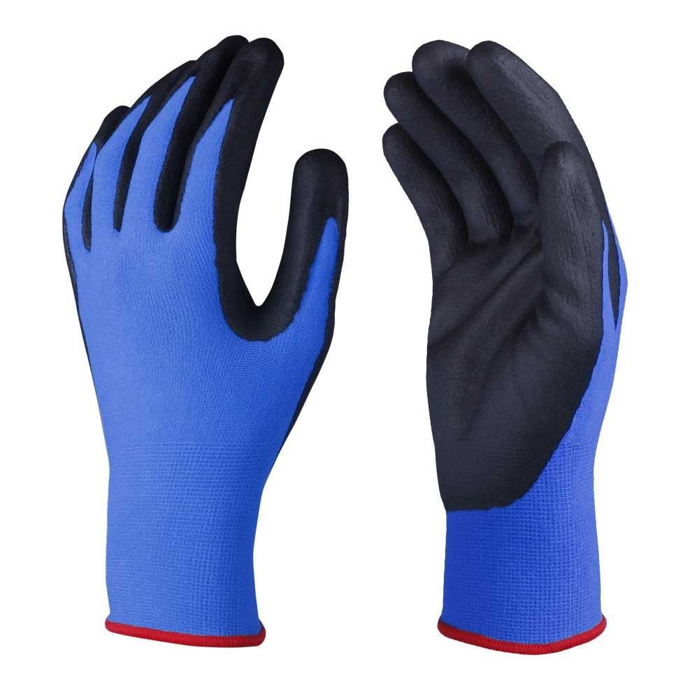 NCG-018 Nitrile Coated Safety Work Gloves