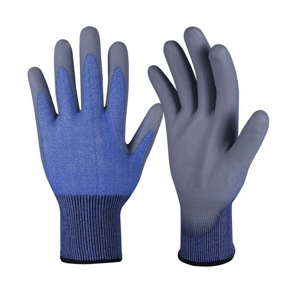 CRG-007 PU Coated Cut Resistant Safety Work Gloves