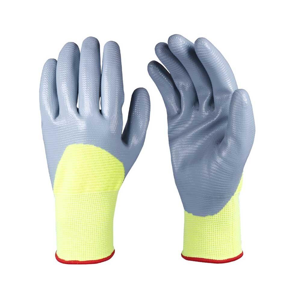 NCG-016 Nitrile Coated Safety Work Gloves