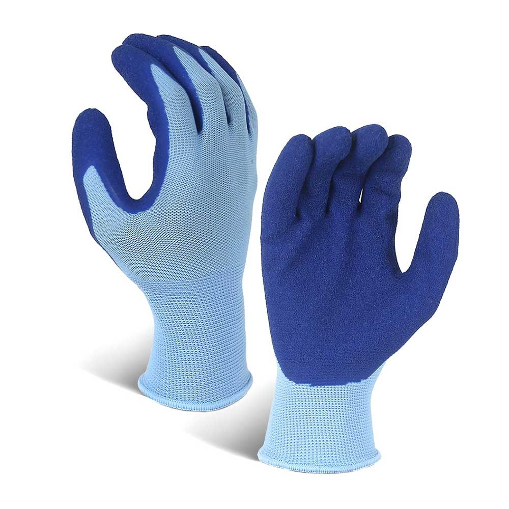 LCG-016-U Latex Coated String Knit Polyester Work Gloves