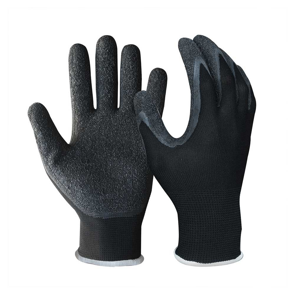 LCG-015 Latex Coated String Knit Safety Work Gloves