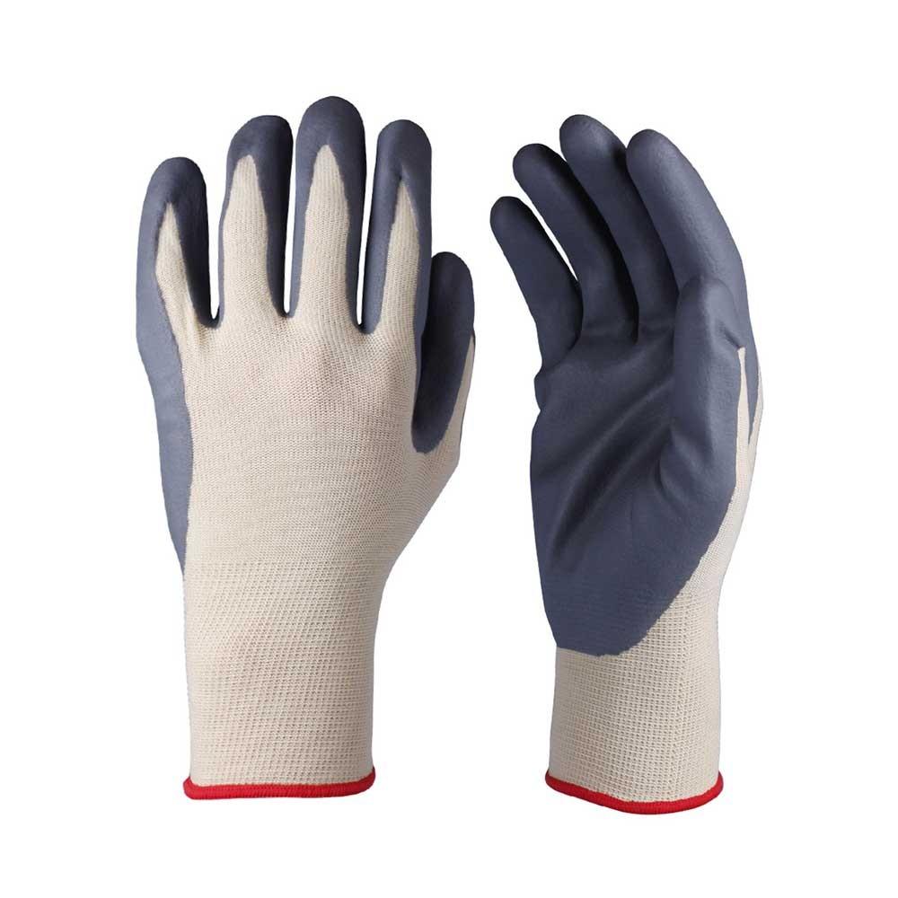 NCG-014 Nitrile Coated Nylon Gloves