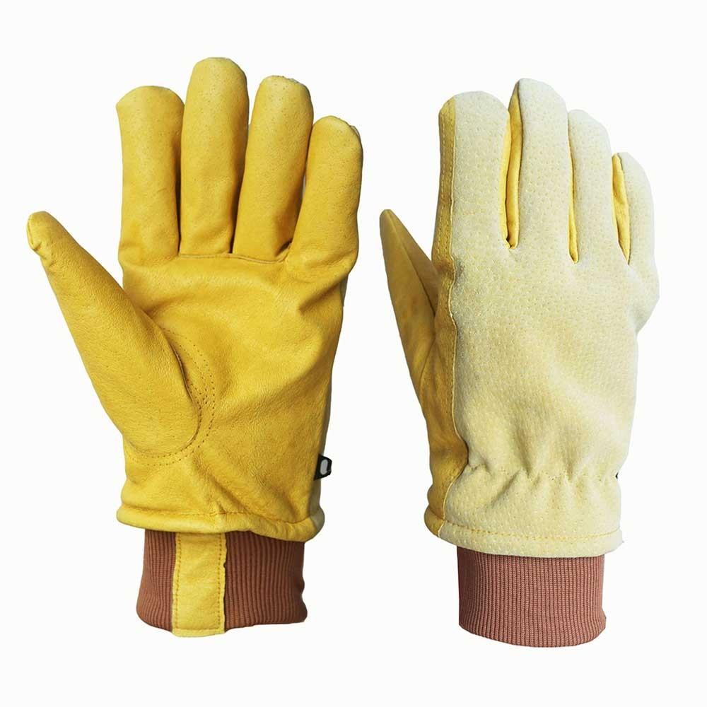 PLG-001 Pigskin Safety Work Gloves