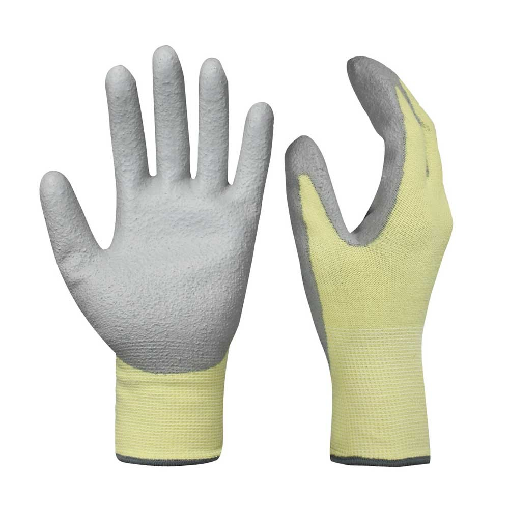 PCG-008 PU Dipped Safety Work Gloves