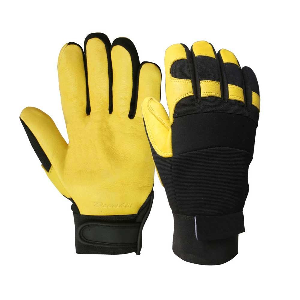 BLG-002 Deerskin Safety Work Gloves