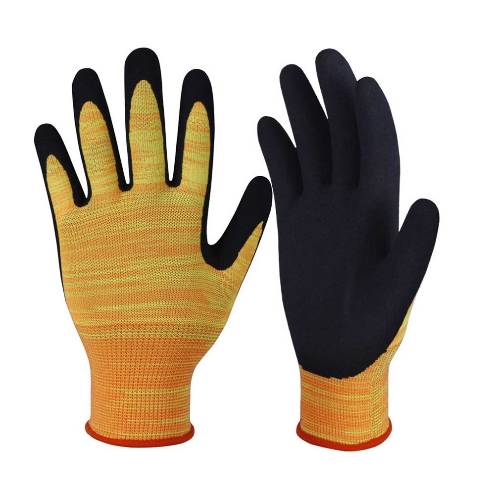 NCG-007 Nitrile Coated Safety Work Gloves