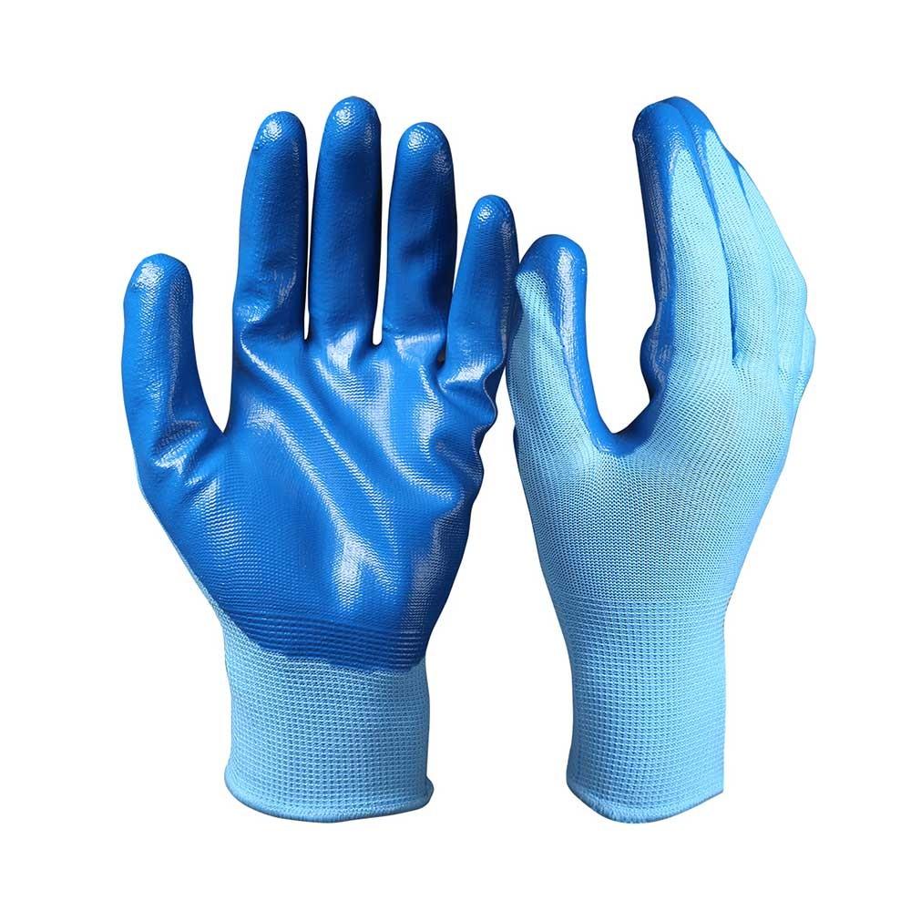 NCG-003 Nitrile Coated Safety Work Gloves